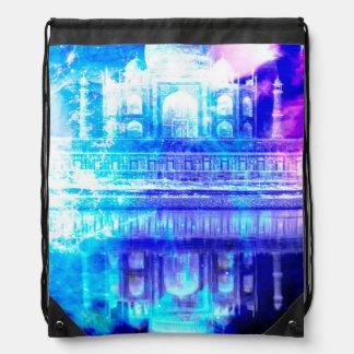 Creation's Heaven Taj Mahal Dreams Drawstring Bag