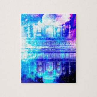 Creation's Heaven Taj Mahal Dreams Jigsaw Puzzle