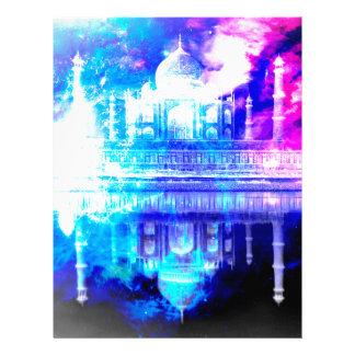 Creation's Heaven Taj Mahal Dreams Letterhead