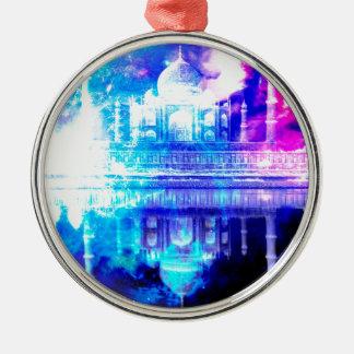 Creation's Heaven Taj Mahal Dreams Metal Ornament