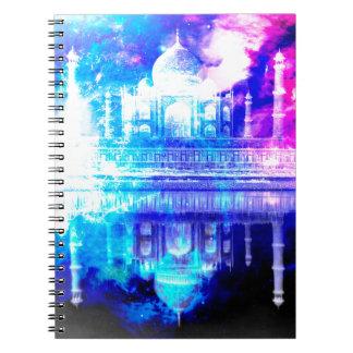 Creation's Heaven Taj Mahal Dreams Notebooks