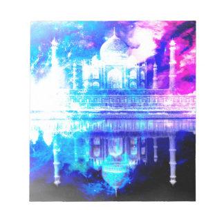 Creation's Heaven Taj Mahal Dreams Notepad