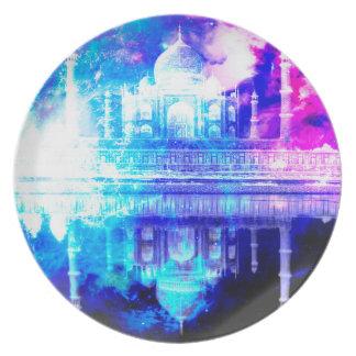 Creation's Heaven Taj Mahal Dreams Plate