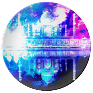 Creation's Heaven Taj Mahal Dreams Plate