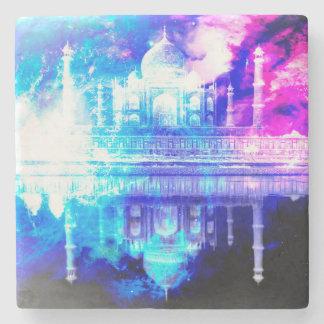 Creation's Heaven Taj Mahal Dreams Stone Coaster