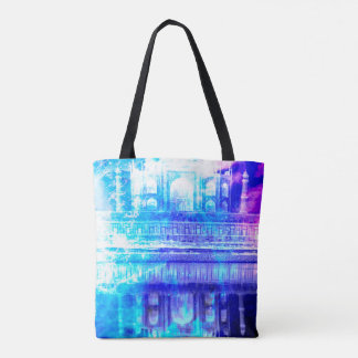 Creation's Heaven Taj Mahal Dreams Tote Bag