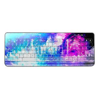 Creation's Heaven Taj Mahal Dreams Wireless Keyboard