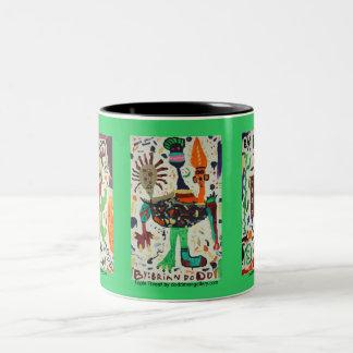 Creations of Doddman Gallery Two-Tone Coffee Mug
