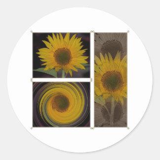 Creations Of One Sunflower Sticker