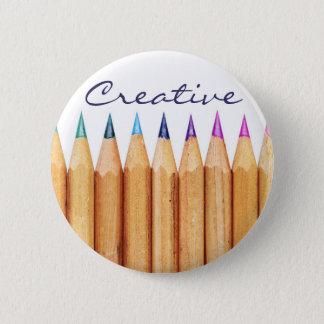 Creative 2 Inch Round Button