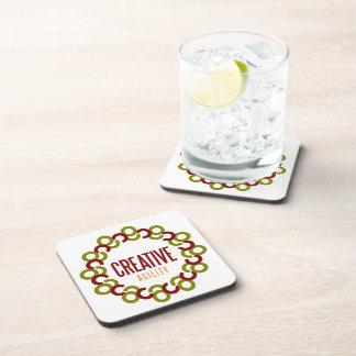 creative agility beverage coasters