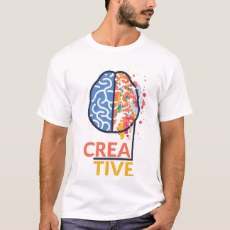 Creative Brain for Artists T-Shirt