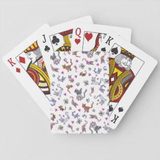 Creative Cats - A Colorful Pet-Lovers Pattern Poker Deck