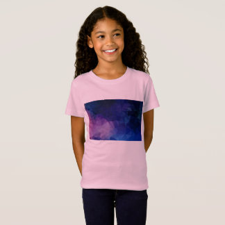 "Creative ""Cave"" tshirt : pink purple"