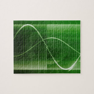 Creative Chart Line Graph Abstract Background Jigsaw Puzzle