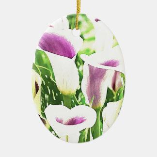 Creative colors Callas Ceramic Ornament