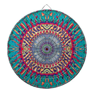 Creative Concentric Abstract Dartboard