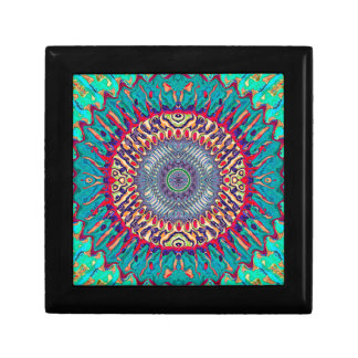 Creative Concentric Abstract Gift Box