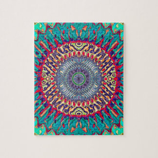Creative Concentric Abstract Jigsaw Puzzle