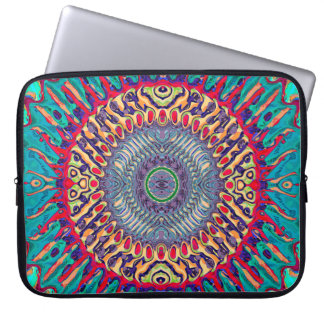 Creative Concentric Abstract Laptop Sleeve