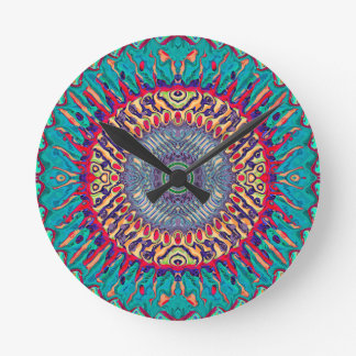 Creative Concentric Abstract Round Clock