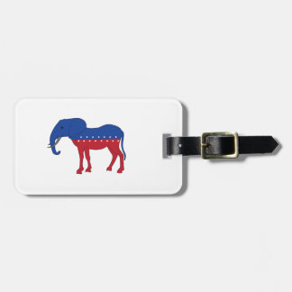 Creative Democracy: A New Animal Luggage Tag