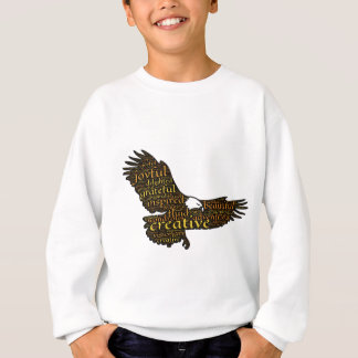 Creative eagle sweatshirt