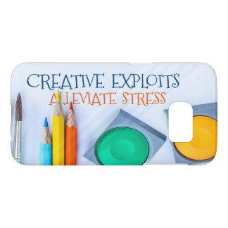 Creative Exploits Alleviate Stress Samsung Galaxy S7 Case
