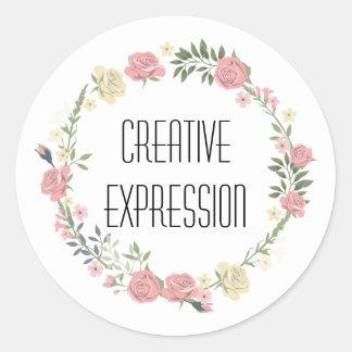 Creative Expression Speech Sticker