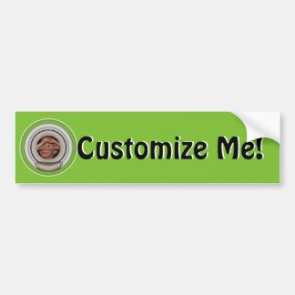 Creative Frame and Mat For Your Masterpiece Bumper Sticker
