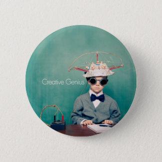 Creative Genius Designs 2 Inch Round Button