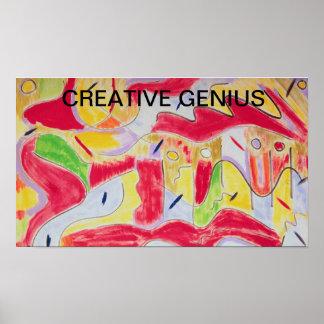 Creative Genius Poster