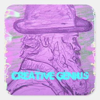 Creative Genius Sticker