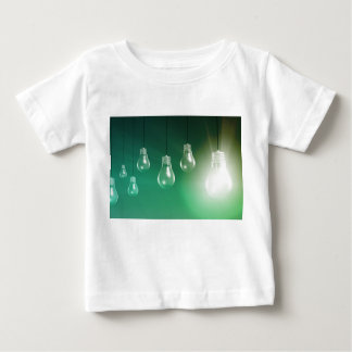 Creative Innovation and Glowing Concept as a Art Baby T-Shirt
