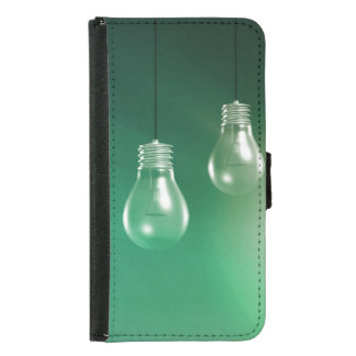 Creative Innovation and Glowing Concept as a Art Samsung Galaxy S5 Wallet Case