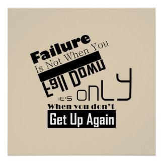 Creative Inspirational motivational poster