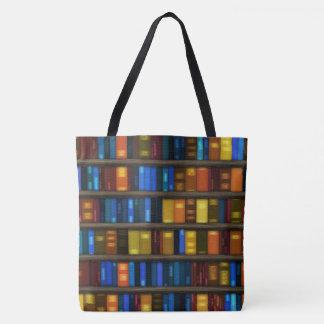 Creative Library Books Design Tote Bag