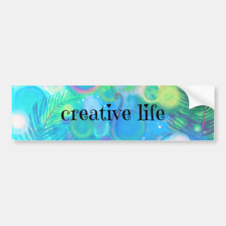 Creative Life bumper sticker