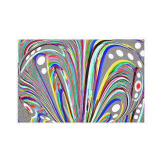 Creative lines canvas print