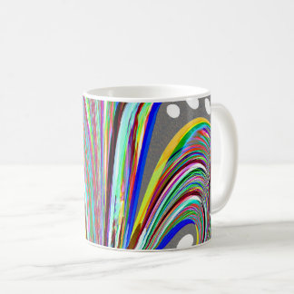 Creative lines coffee mug