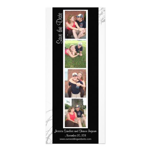 Creative Photo Booth Save the Date Personalized Invite