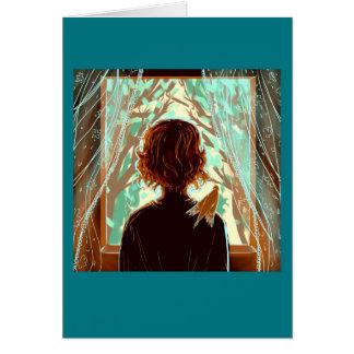 Creative Process introspective blank card