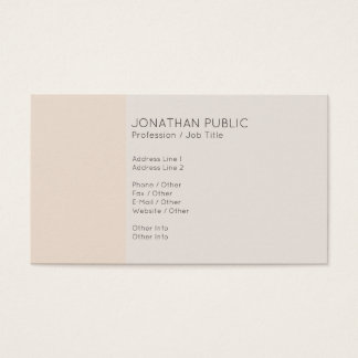 Creative Professional Elegant Harmonic Colors Business Card