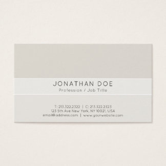 Creative Professional Stylish Harmonic Colors Business Card