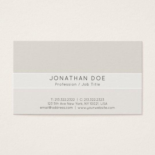 Creative Professional Stylish Harmonic Colours Business Card