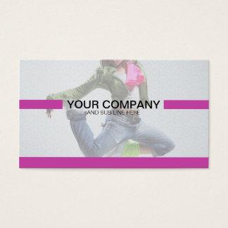Creative Purple Minimal - Fully editable Business Card