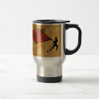 """Creative Rage"" Street Art Design Travel Mug"