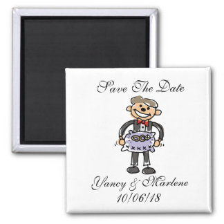 Creative Save The Date Magnet Ring Bearer