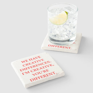 CREATIVE STONE BEVERAGE COASTER