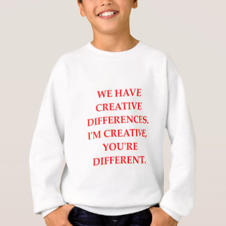 CREATIVE SWEATSHIRT